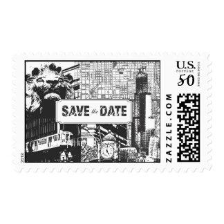I Heart Chicago Postage