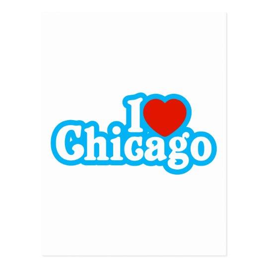 I Heart Chicago Postcard
