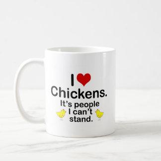 I (Heart) Chickens Coffee Mug