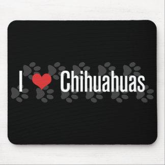 I (heart) Chihuahuas Mouse Pad