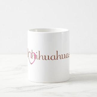 I Heart Chihuahuas Mug