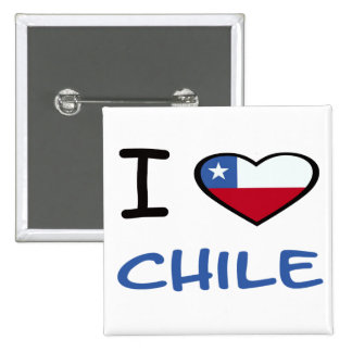 I Heart Chile Buttons