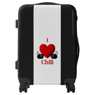 I Heart Chili Luggage