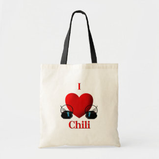 I Heart Chili Tote Bag