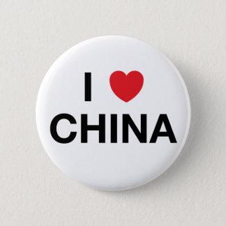 I HEART CHINA Badge Pin
