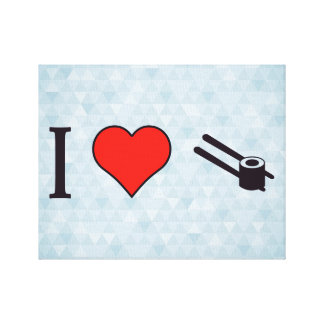 I Heart Chinese Food Canvas Print