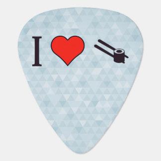 I Heart Chinese Food Guitar Pick