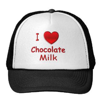 I Heart Chocolate Milk Hat
