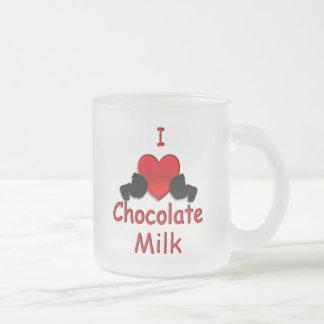 I Heart Chocolate Milk Mug