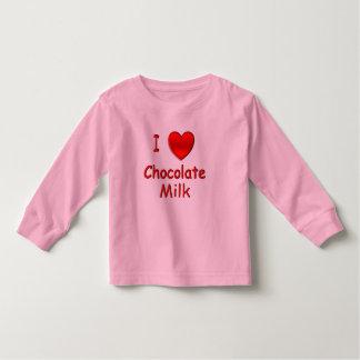 I Heart Chocolate Milk Toddler T-shirt