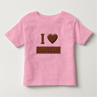 I Heart Chocolate Toddler T-shirt