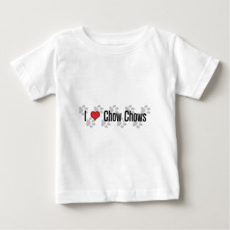 I (heart) Chow Chows Baby T-Shirt