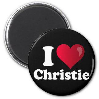 I Heart Chris Christie 2 Inch Round Magnet