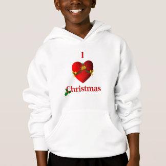 I Heart Christmas Hoodie
