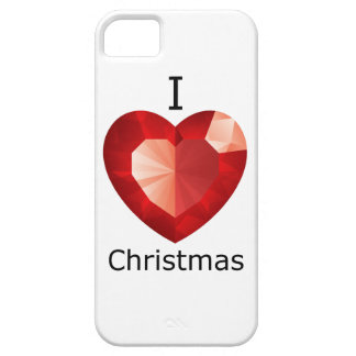 I heart Christmas iPhone Cover