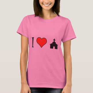 I Heart Church T-Shirt