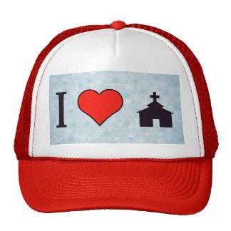 I Heart Church Trucker Hat