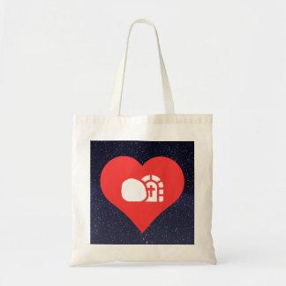 I Heart Churches Icon Budget Tote Bag