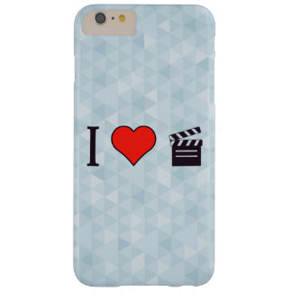 I Heart Clapperboards Barely There iPhone 6 Plus Case