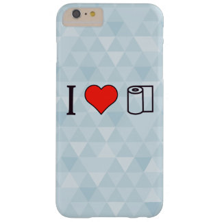 I Heart Cleaning Up Spills Barely There iPhone 6 Plus Case