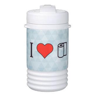 I Heart Cleaning Up Spills Cooler