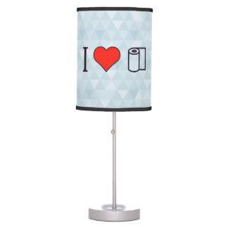 I Heart Cleaning Up Spills Desk Lamp