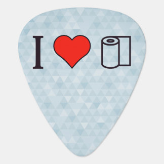I Heart Cleaning Up Spills Guitar Pick