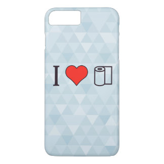 I Heart Cleaning Up Spills iPhone 7 Plus Case