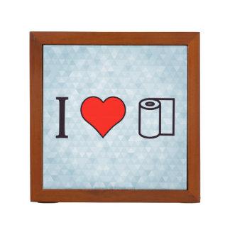 I Heart Cleaning Up Spills Pencil/Pen Holder