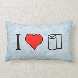 I Heart Cleaning Up Spills Pillow