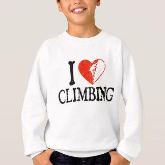 I Heart Climbing - Guy 2 Sweatshirt