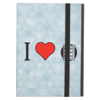 I Heart Clipboards Case For iPad Air