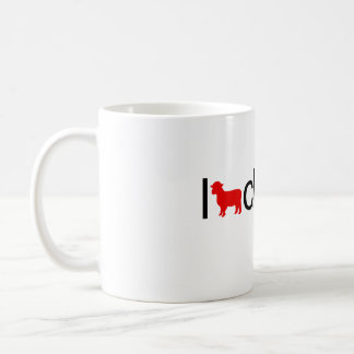 I heart cloning coffee mug