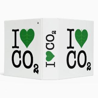 I Heart CO2 3 Ring Binder