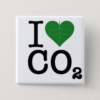 I Heart CO2 Pinback Button