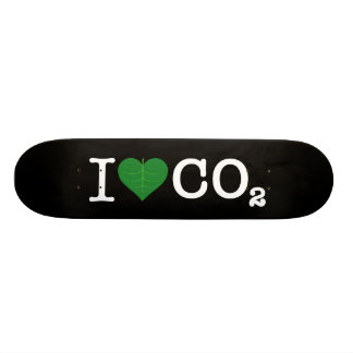 I Heart CO2 Skate Board