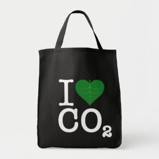 I Heart CO2 Tote Bag
