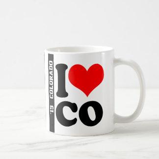 I Heart CO Coffee Mug