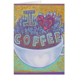 I Heart Coffee Card