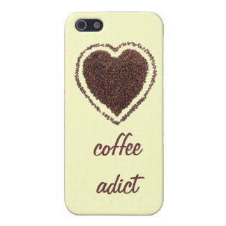 I heart coffee coffee addict case for iPhone SE/5/5s