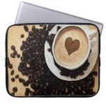 I Heart Coffee Computer Sleeve