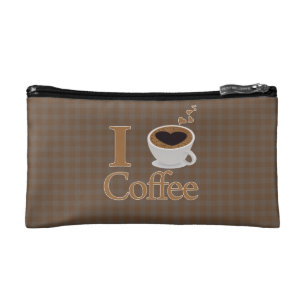 82cee3d2f4 Coffee Lover Cosmetic   Toiletry Bags