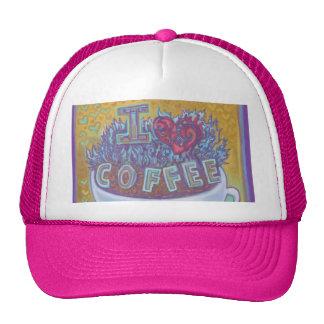 I Heart Coffee Trucker Hat