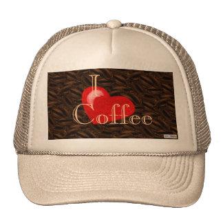 I Heart Coffee Hat