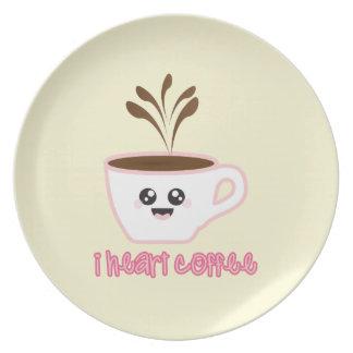 I Heart Coffee - Plate