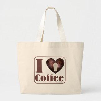 I heart Coffee tote Jumbo Tote Bag
