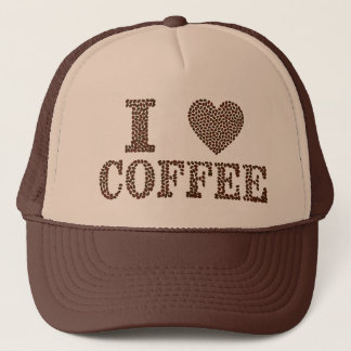 I Heart Coffee Trucker Hat