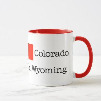 I Heart Colorado. And Wyoming. Mug