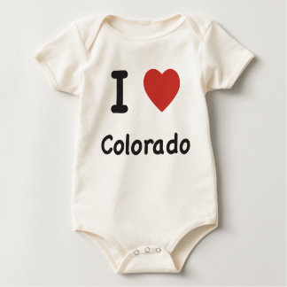 I Heart Colorado - Baby T-shirt