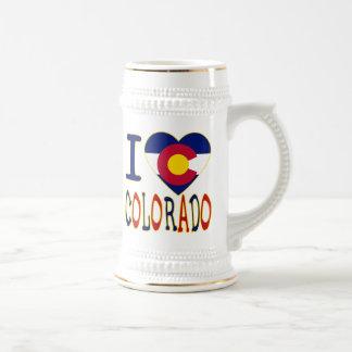 I Heart Colorado Beer Stein
